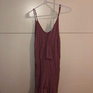 NWOT Purple Jumpsuit